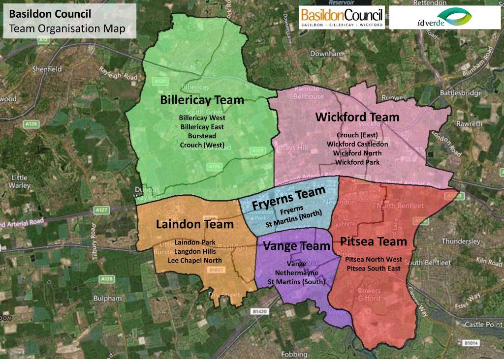 Basildon areas